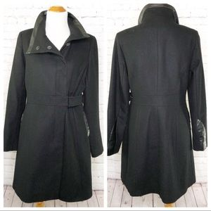 Via Spiga 3/4 Length Wool Blend Coat Size 10